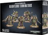 Warhammer 40,000: Death Guard - Blightlord Terminators