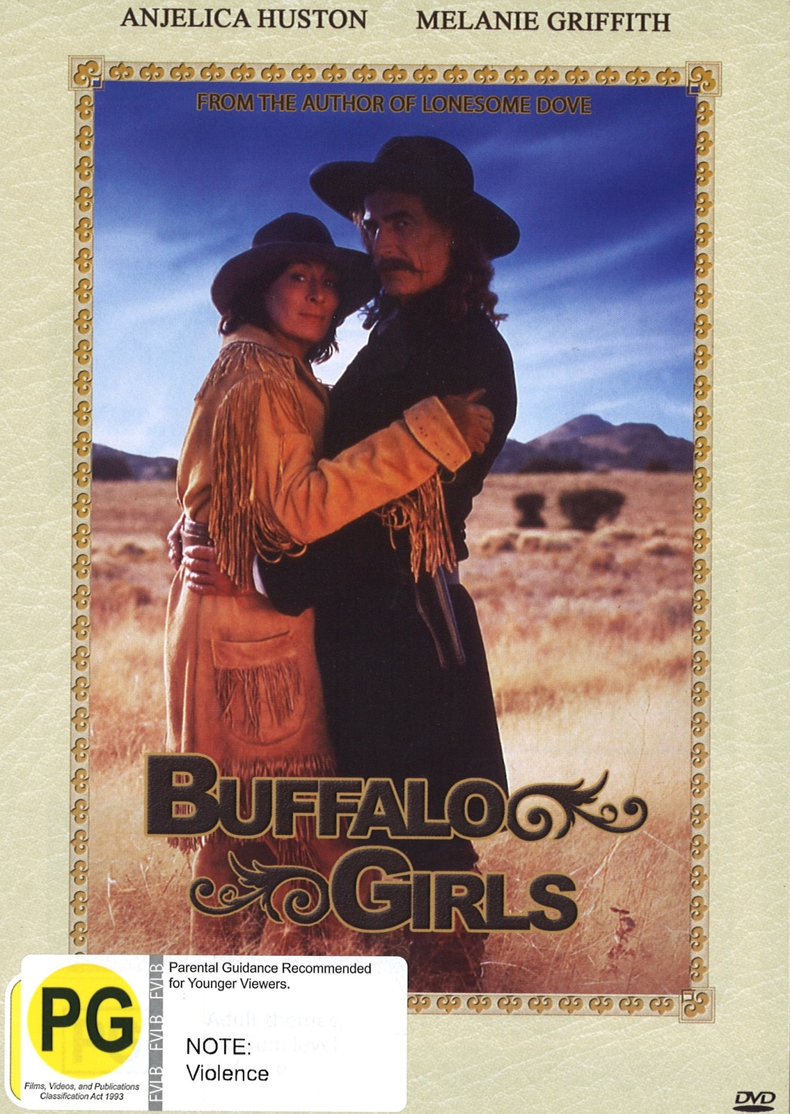 Buffalo Girls on DVD image