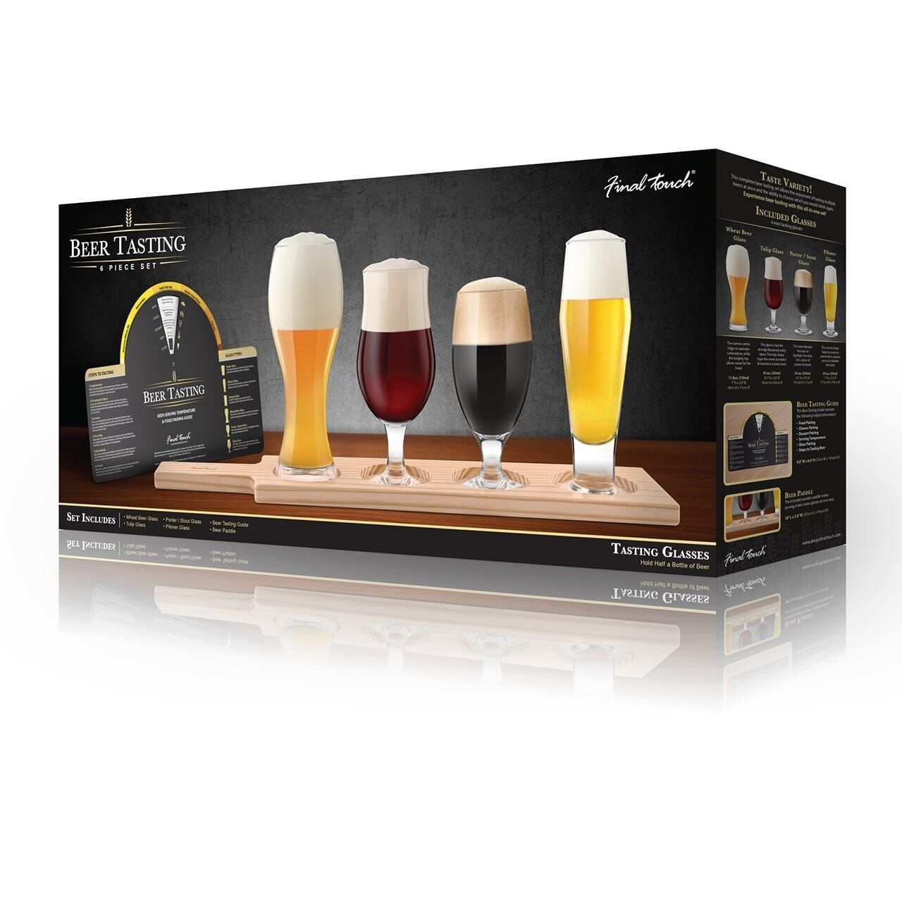 Final Touch Beer Tasting Set (6pc) image