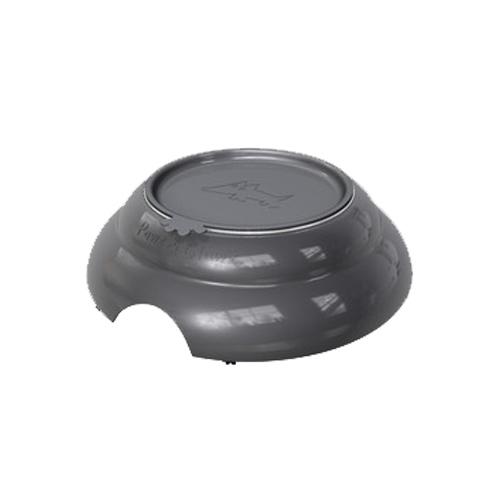 Pawz N Clawz: Deluxe 3 Piece Bowl - Grey