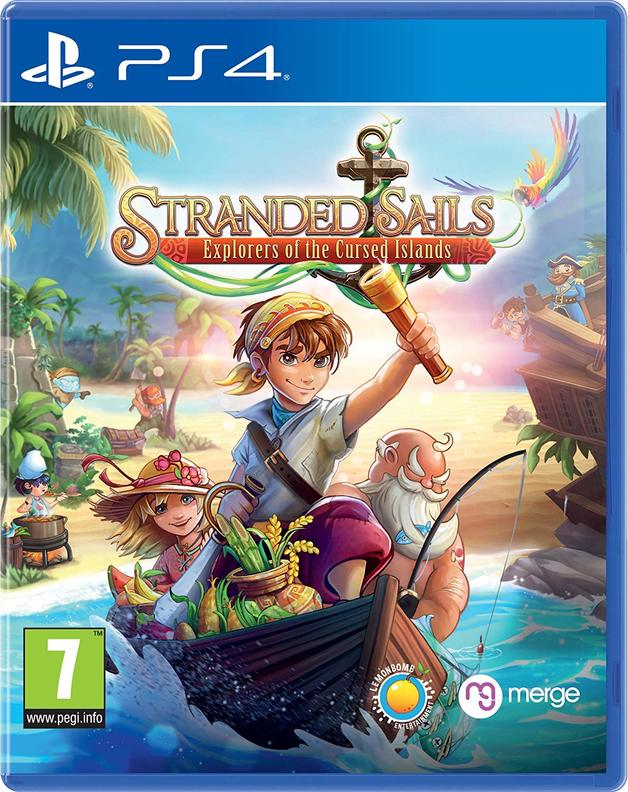 Stranded Sails: Explorers Of The Cursed Islands for PS4