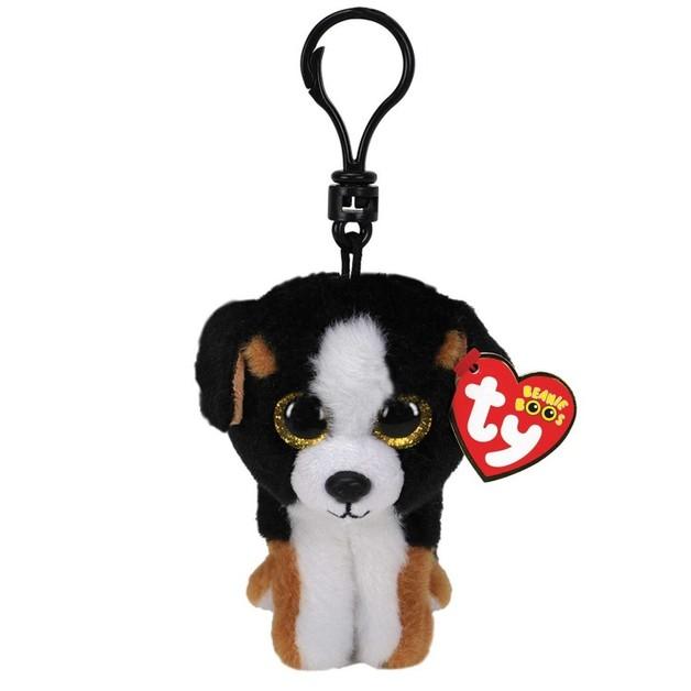 Ty Beanie Boos: Roscoe Puppy - Clip On Plush