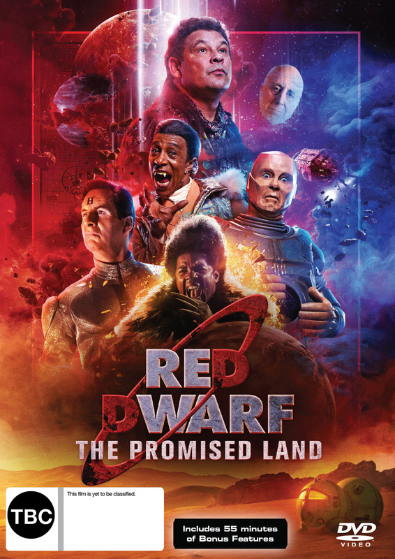 Red Dwarf: The Promised Land on DVD