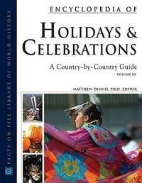 Encyclopedia of Holidays and Celebrations 3 Volume Set image