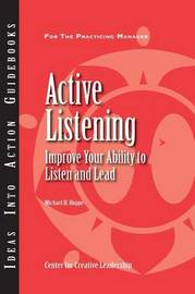 Active Listening by Center for Creative Leadership (CCL)