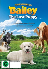 Adventures of Bailey: The Lost Puppy on DVD