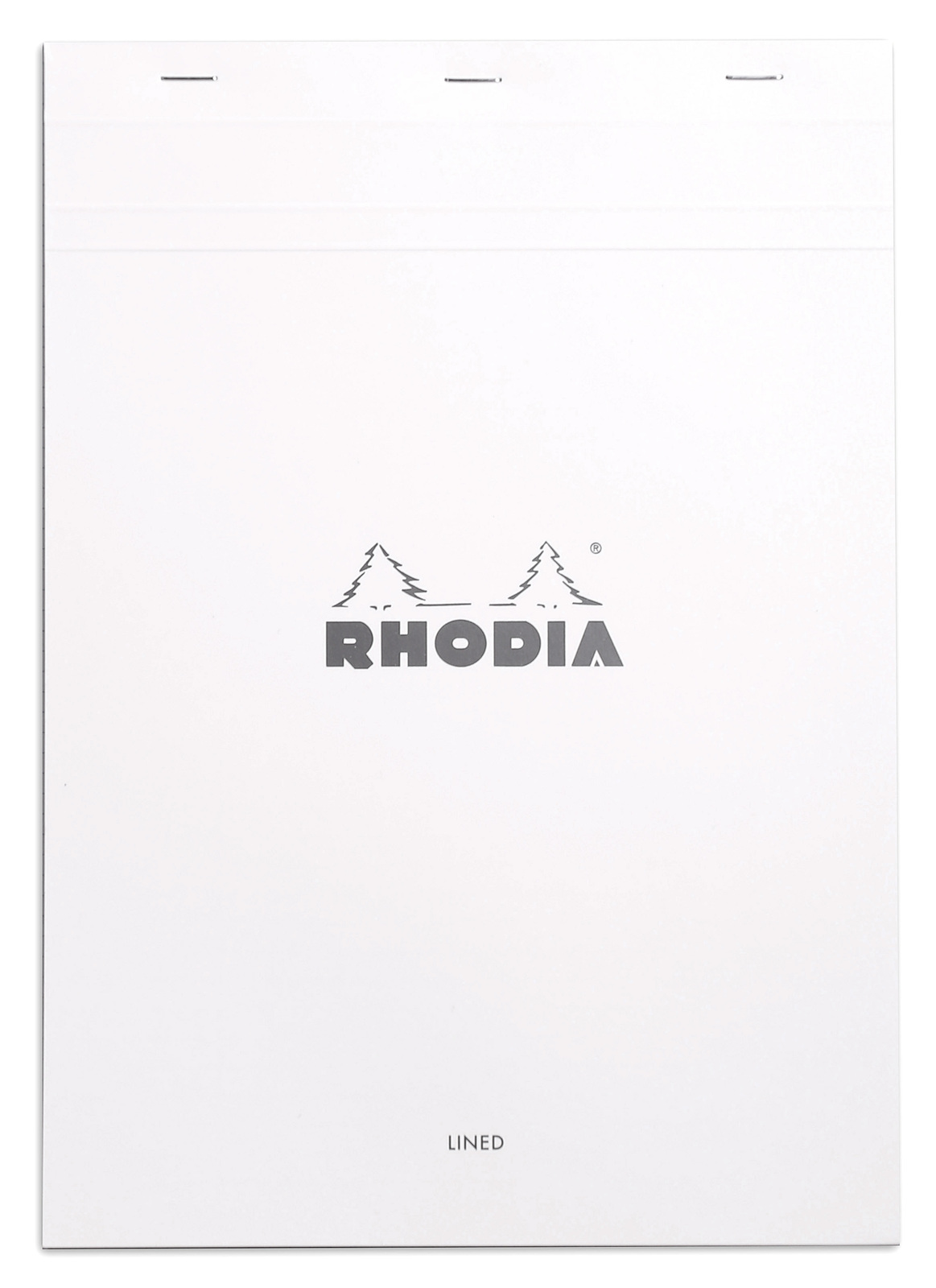 Bloc Rhodia White A4 - Lined image