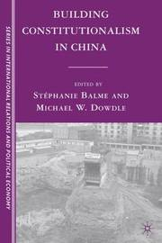 Building Constitutionalism in China image