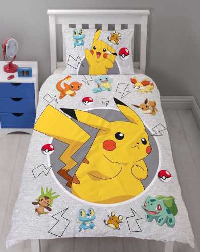 Pokemon Duvet Set - Single
