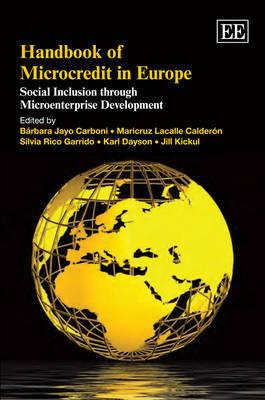 Handbook of Microcredit in Europe image