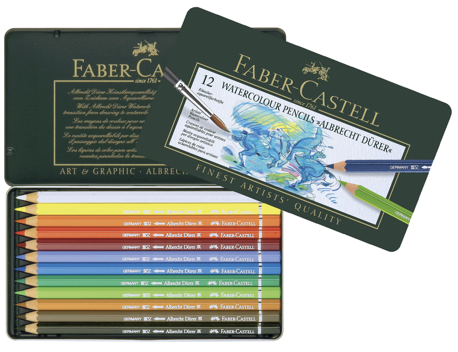 Faber-Castell: Albrecht Durer Pencil (Tin of 12) image