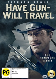 Have Gun Will Travel: The Complete Collection on DVD