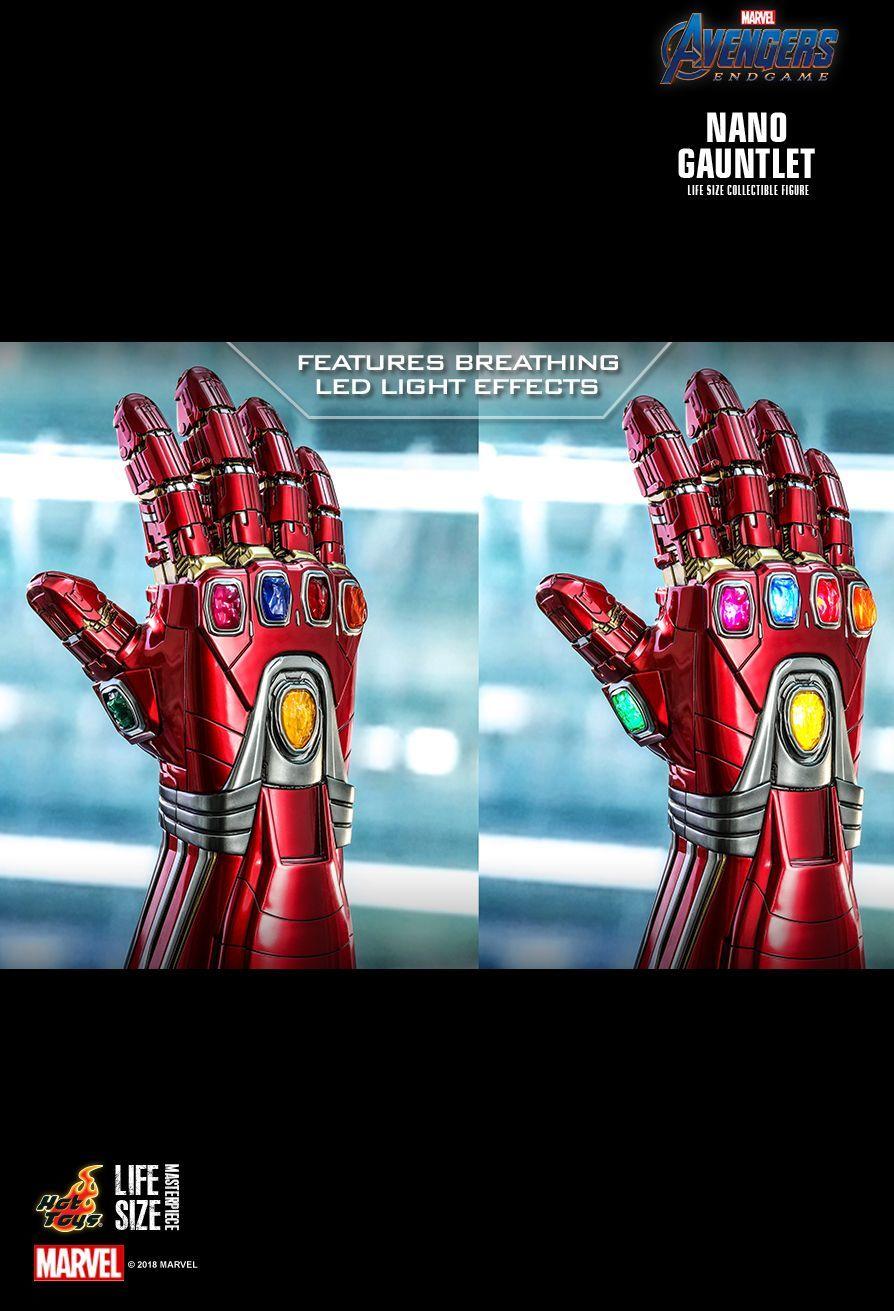 Avengers: Endgame - Nano Gauntlet - 1:1 Scale Life-Size Replica image