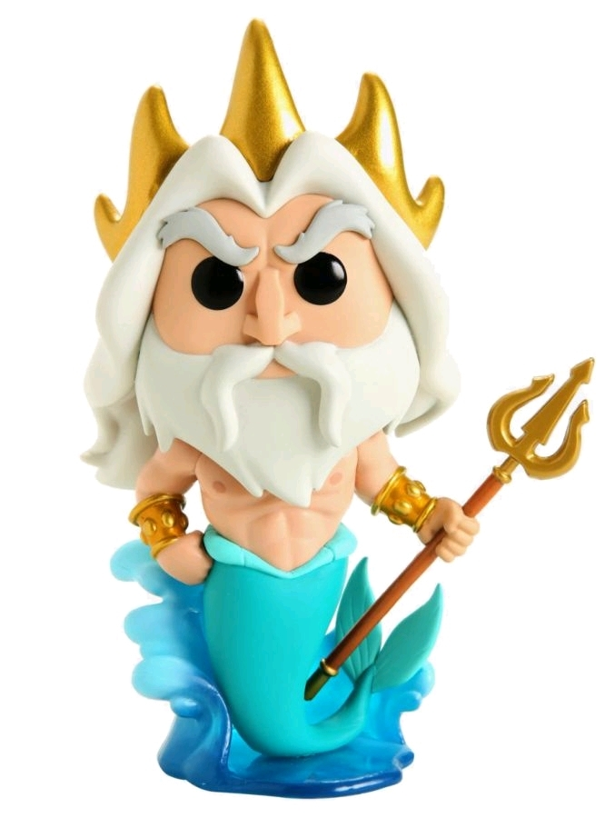 "Little Mermaid - King Triton 6"" Pop! Vinyl Figure image"