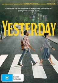 Yesterday on DVD