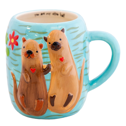 Natural Life: Folk Mug - Otter