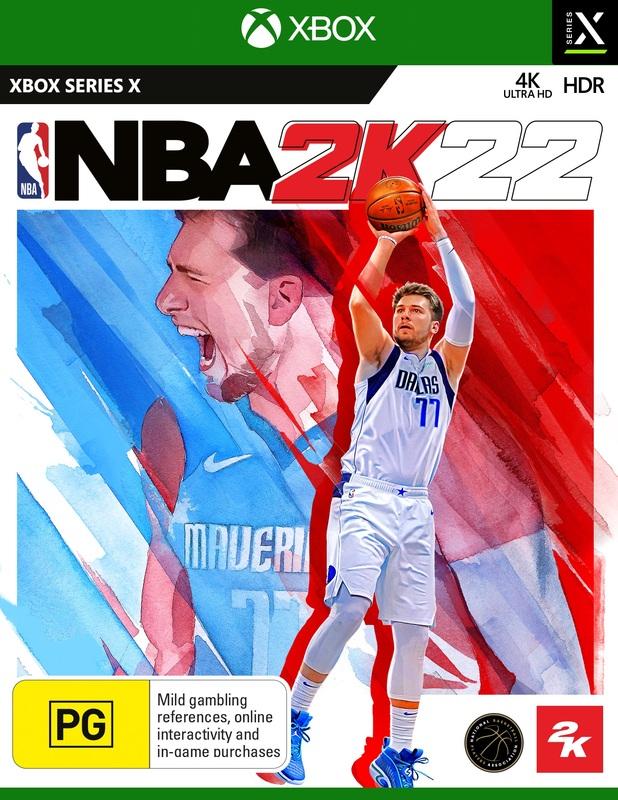 NBA 2K22 for Xbox Series X
