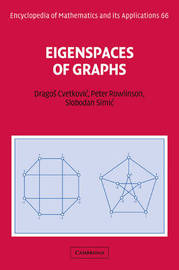 Encyclopedia of Mathematics and its Applications: Series Number 66 by Dragos M. Cvetkovic