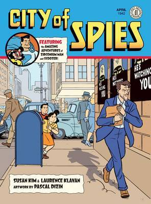 City of Spies by Susan Kim image