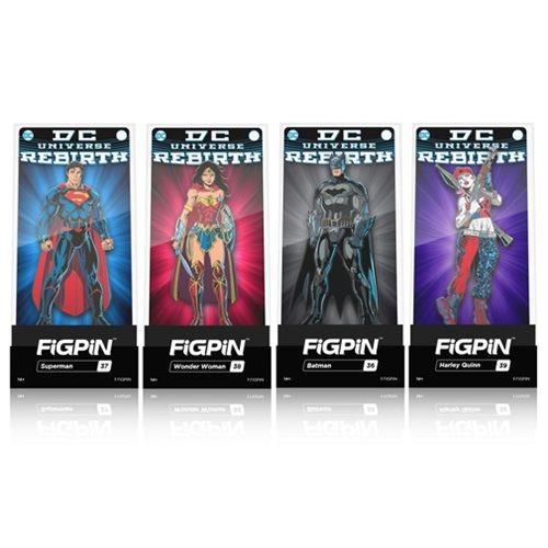 DC Comics Rebirth: FiGPiN Enamel Pin - (Assorted)