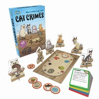 ThinkFun : Cat Crimes - Logic Game