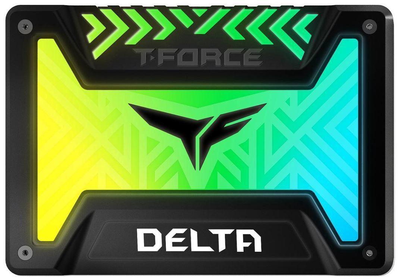 "250GB Team T-Force Delta RGB 3D NAND 2.5"" SSD image"