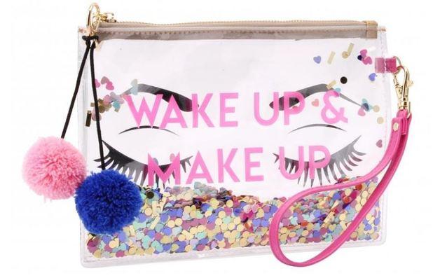 Sweet Tooth: Wake Up & Makeup Cosmetic Bag