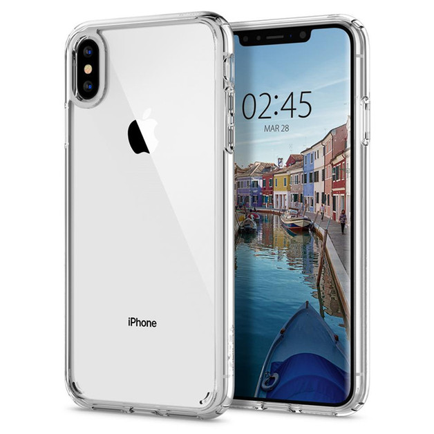 Spigen: Ultra Hybrid Case for iPhone XS Max - Clear