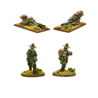 Bolt Action: Chindit Flamethrower & Light Mortar Teams image