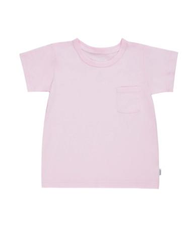 Bonds: Basic Aussie Short Sleeve CTN Tee - Rosewater (Size 00)
