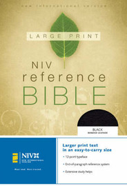 NIV Reference Bible: Personal Size by Zondervan Publishing image