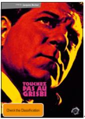 Touchez Pas Au Grisbi on DVD