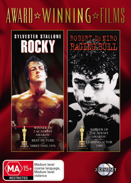 Rocky / Raging Bull (Award Winning Films) (2 Disc Set) on DVD