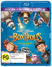 The Boxtrolls on Blu-ray, 3D Blu-ray