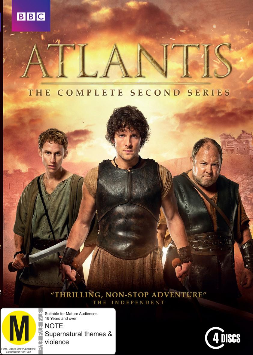Atlantis - Season 2 on DVD image