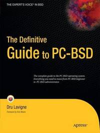 The Definitive Guide to PC-BSD by Dru Lavigne image