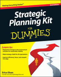 Strategic Planning Kit For Dummies by Erica Olsen
