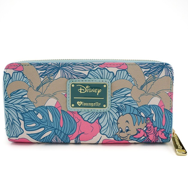 Disney Ariel Leaves Pastel Wallet  8f56f04fa9ff4