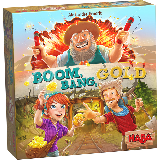Boom Bang Gold - The Fast Paced Game of Gold