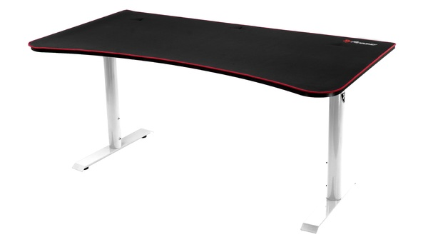 Arozzi Arena Gaming Desk (White) for
