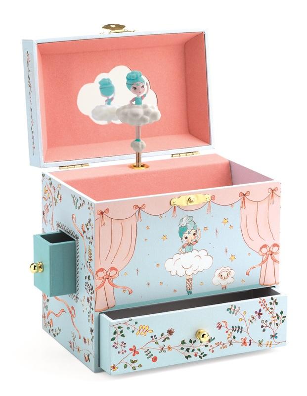 Djeco: Musical Treasure Box - Grand Ballerina