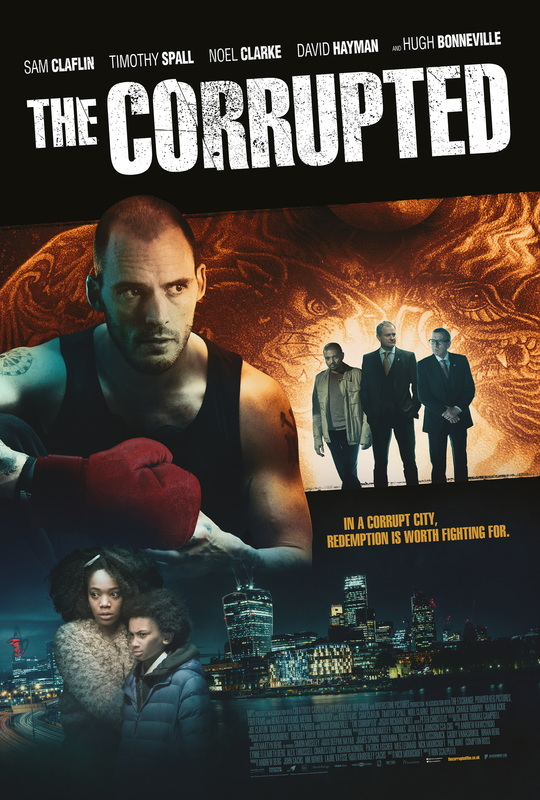 The Corrupted on DVD