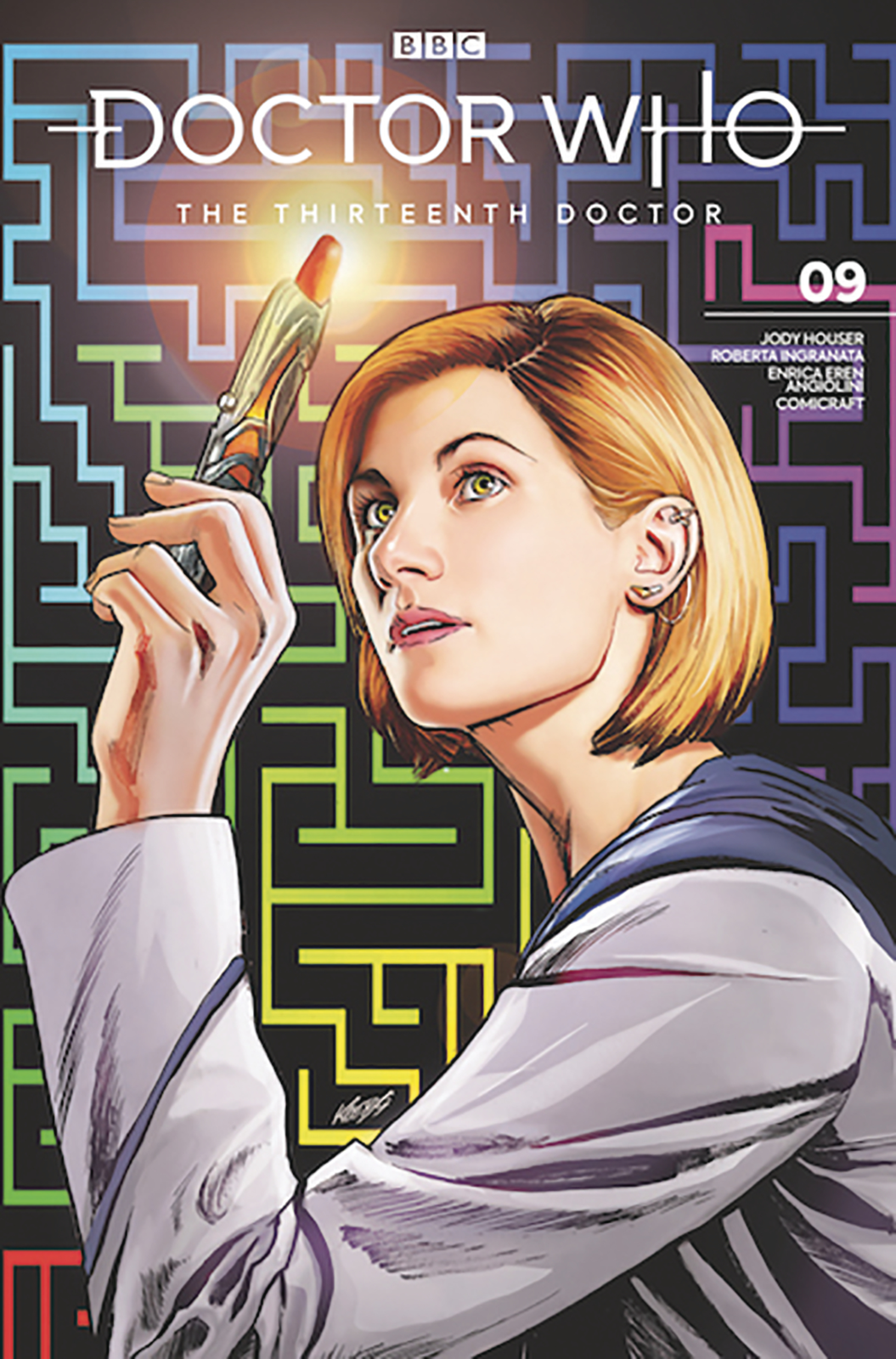 Doctor Who: The 13th Doctor - #9 (SDCC 2019 Variant) by Jody Houser image
