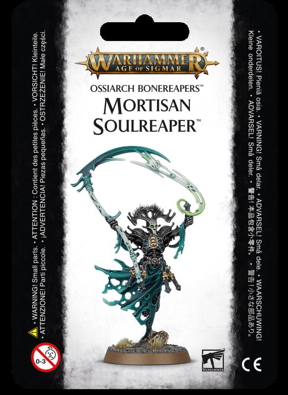 Warhammer Age of Sigmar: Ossiarch Bonereapers Mortisan Soulreaper