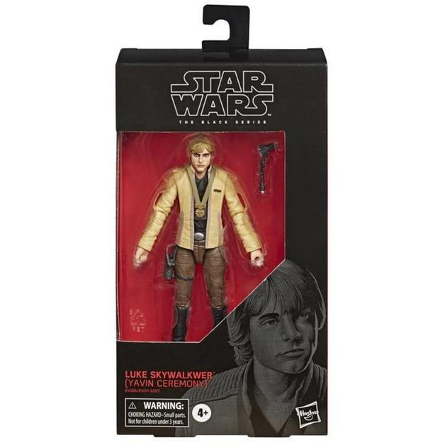 "Star Wars The Black Series: Luke Skywalker (Yavin Ceremony)- 6"" Action Figure"