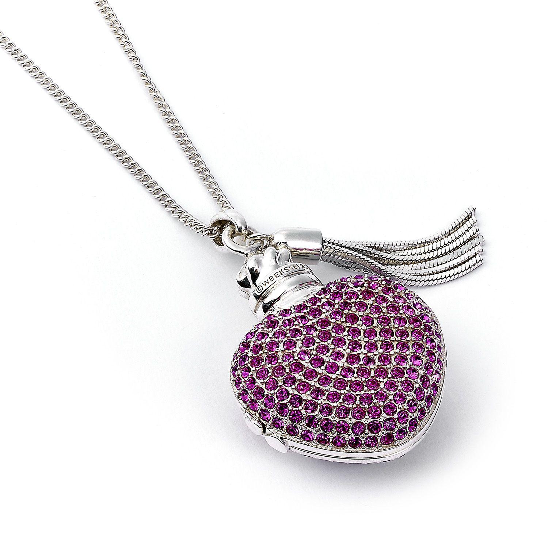 The Carat Shop: Harry Potter Sterling Silver Love Potion Necklace Embellished with Swarovski Crystals image