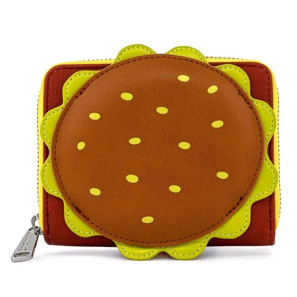 Loungefly: Spongebob Squarepants - Krabby Patty Zip Around Wallet