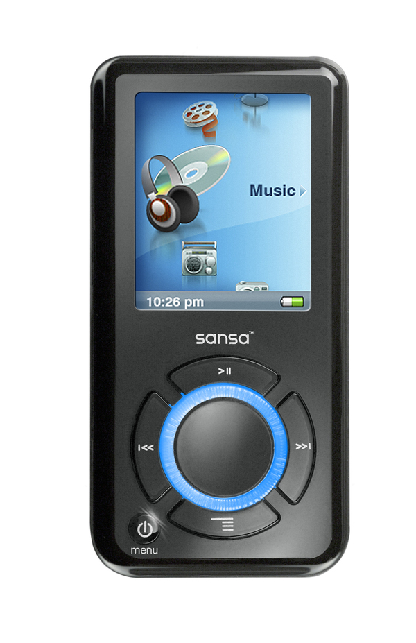 Sandisk 2GB Sansa E250 MP3 Player image