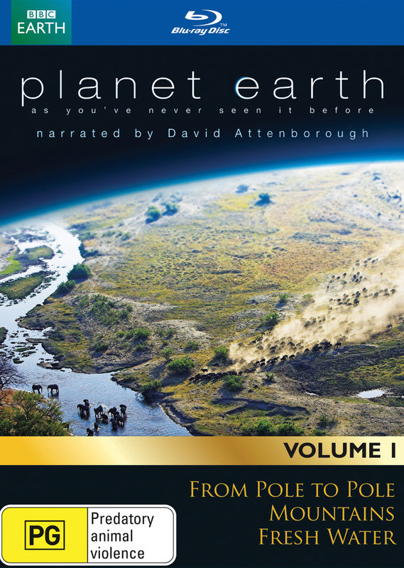 David Attenborough's Planet Earth Collection - Volume 1 on Blu-ray