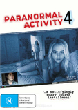 Paranormal Activity 4 on DVD